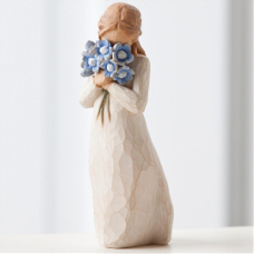Forget me not - Vergiss mich nicht Willow Tree Figur